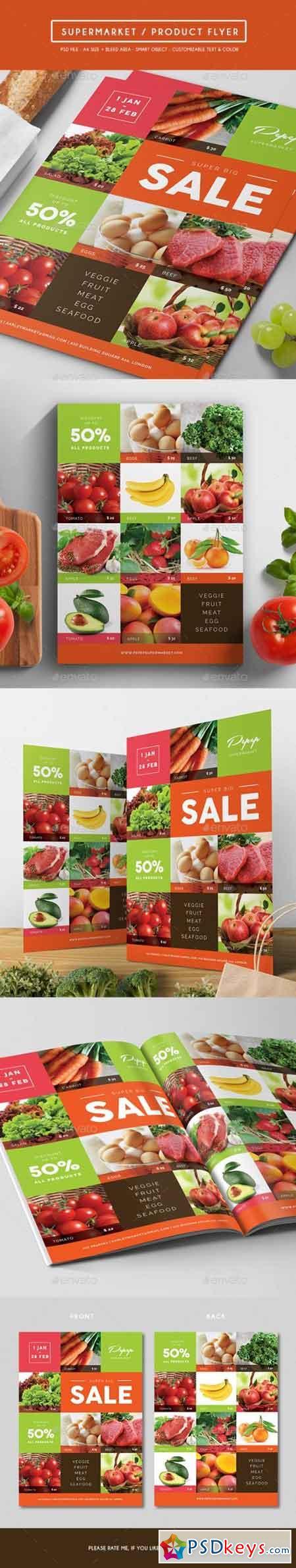 Supermarket Product Flyer 15914834