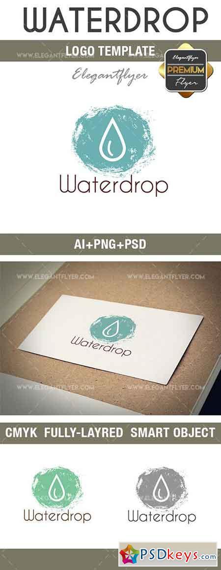 Waterdrop – Premium Logo Template