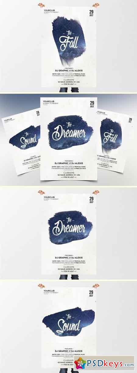The Dreamer - Minimal PSD Flyer 2128368