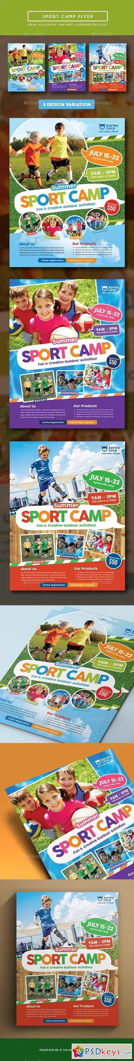 Sport Camp Flyer 15373514