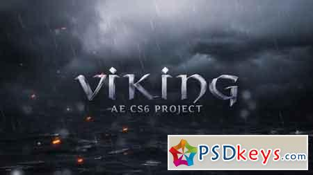 Viking Apocalypse Title - After Effects Projects