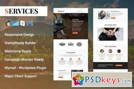 Services - Responsive Email Template 2126282