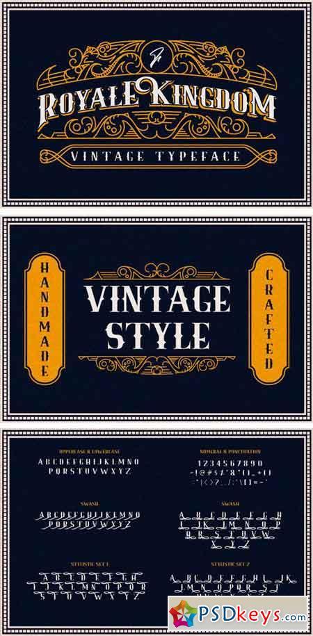 Royale Kingdom ~ Vintage Typeface 2477318