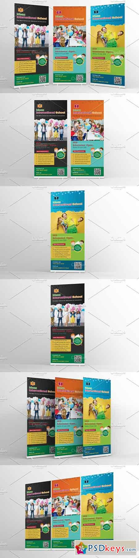 School Education Roll-Up Banner Sign 2580965