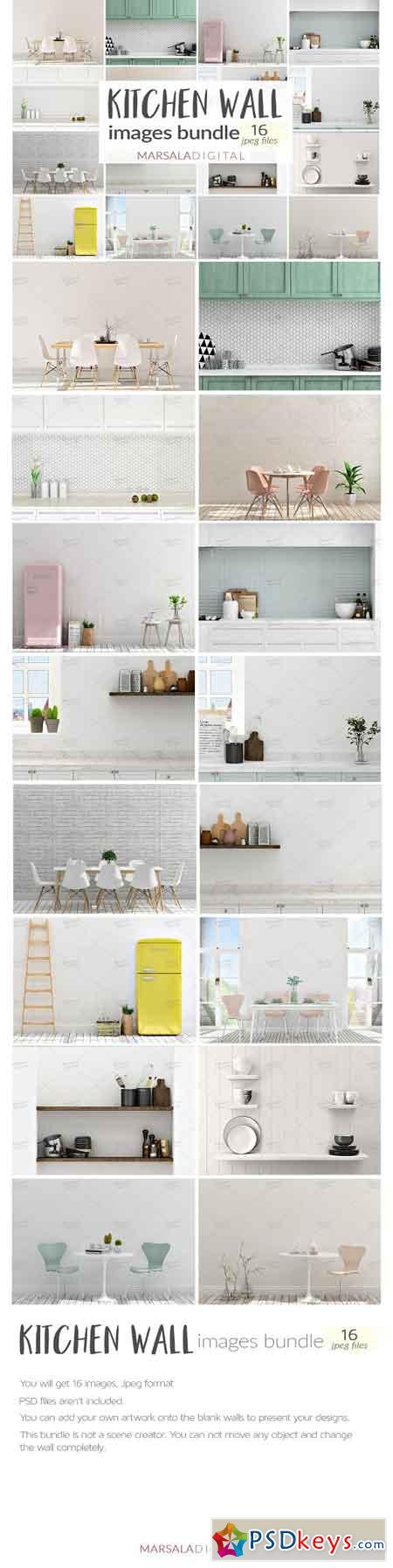 Kitchen Wall Images Bundle 2578737