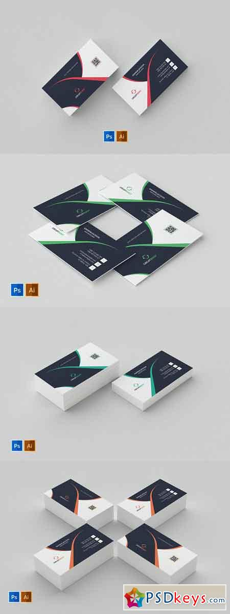 Business Card Template 56 2582576
