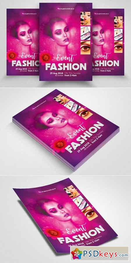 Fashion Flyer Template Vol 01 2579924