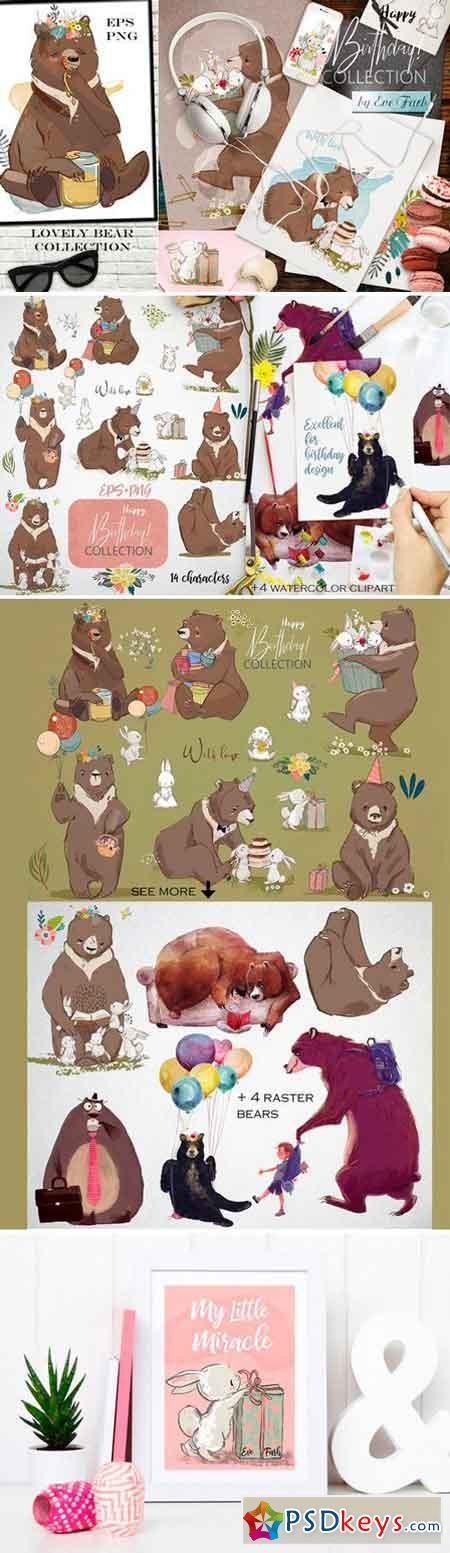 Lovely Bear Collection 2518836