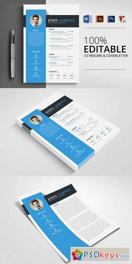 Cv Free Download Photoshop Vector Stock Image Via Torrent