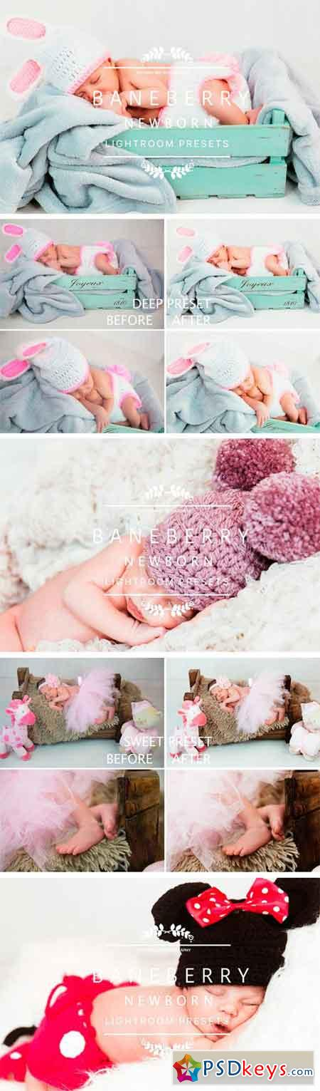 BANEBERRY Newborn Lightroom Presets 2536317