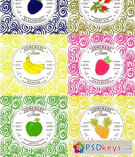 jam labels design template vol 1 2504547 free download photoshop