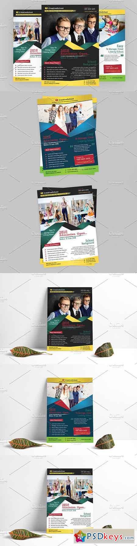 Education Flyer 2580772