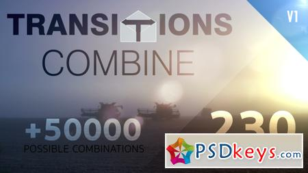 Transitions Combine Pack & Toolkit 19483509 - After Effects Projects