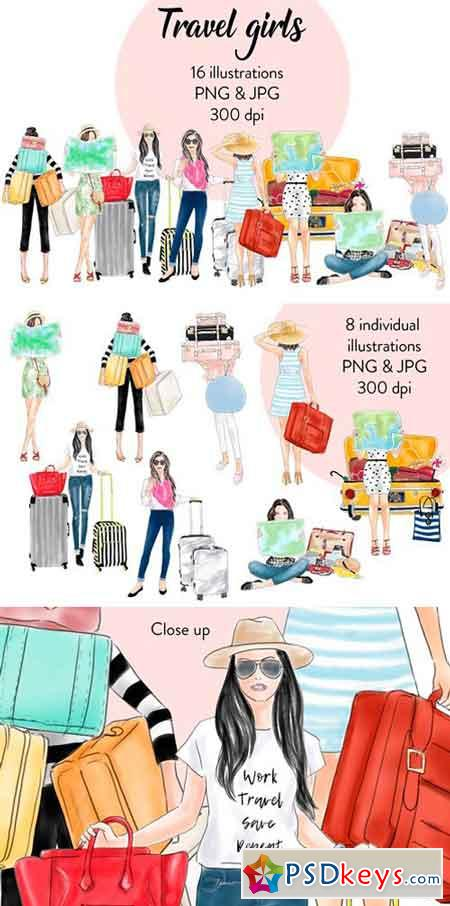 Travel Girls 2517639