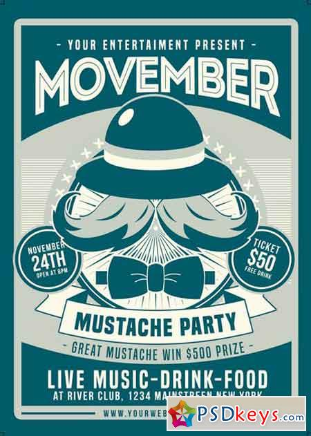 Movember Mustache Party 2516413