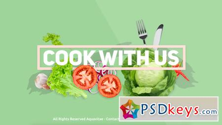 Cook With Us - Cooking TV Show Package 16486174 - After Effects Projects