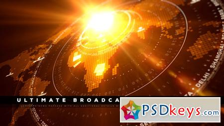 Ultimate Broadcast News Pack 2 11886568 - After Effects Projects
