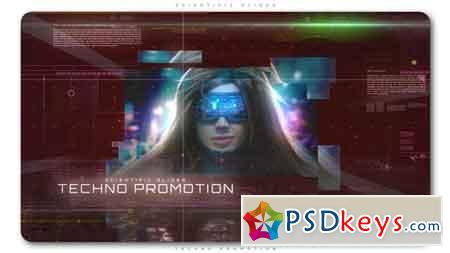 Scientific Slides Techno Promotion After Effects Template 21795636