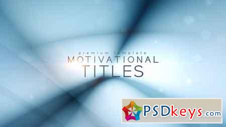 Motivational Titles After Effects Template 21835670