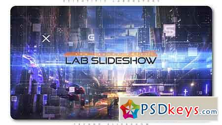 Scientific Laboratory Techno Slideshow After Effects Template 21393365