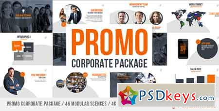 Promo Corporate Package After Effects Template 11770233