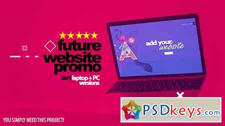 Future Website Promo 2in1 After Effects Template 21577859