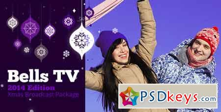 Christmas Bells TV Broadcast Package After Effects Template 3568979