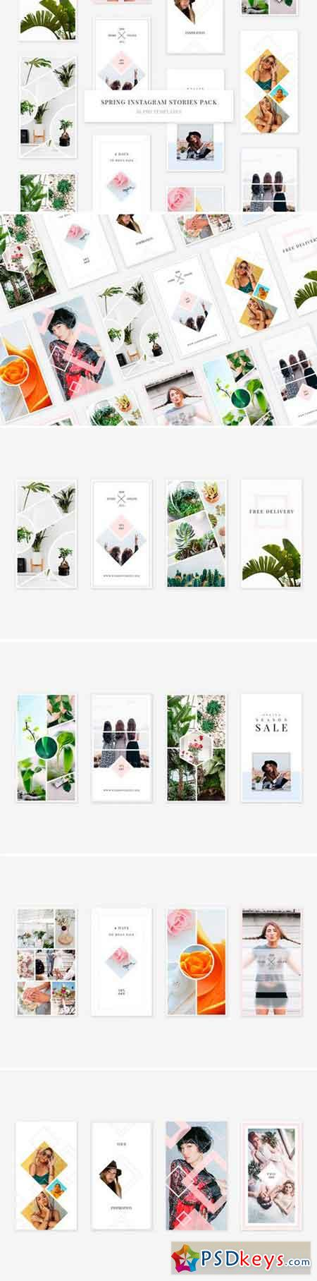 Spring Instagram Stories Pack 2488723