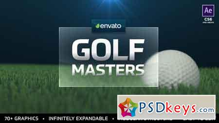 Golf Masters Graphics Package After Effects Template 21663633