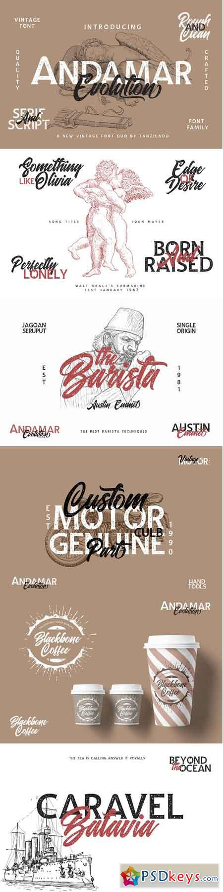 Andamar Font Family 2595763