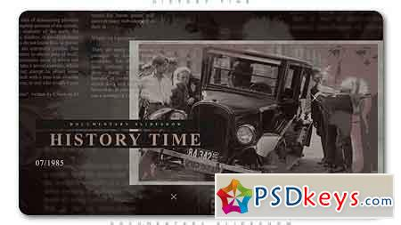 History Time Documentary Slideshow After Effects Template 21317111