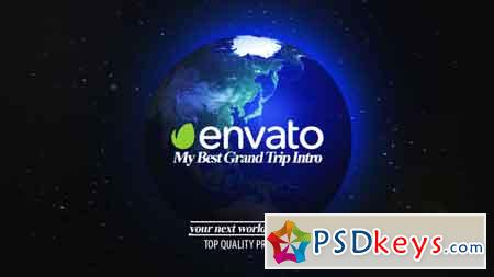 Best Grand Trip Intro World Map Kit After Effects Template 21674484