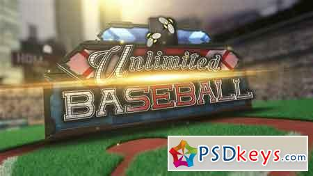 Unlimited Baseball After Effects Template 11365393