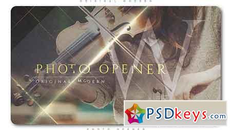 Original Modern Photo Opener After Effects Template 21144113
