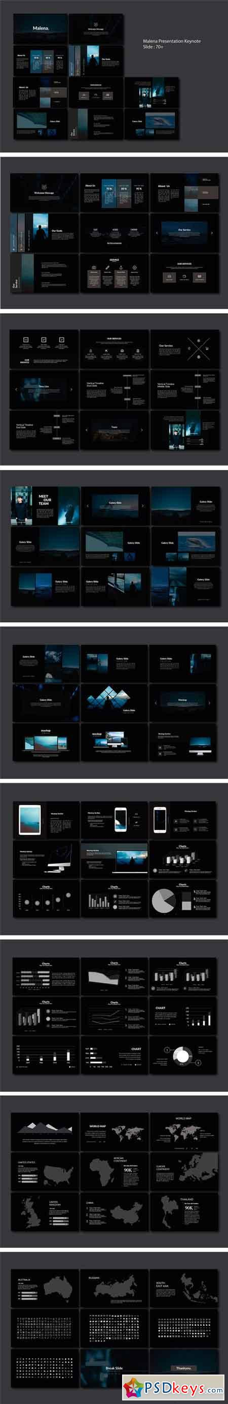 Malena Multipurpose Keynote 2511490
