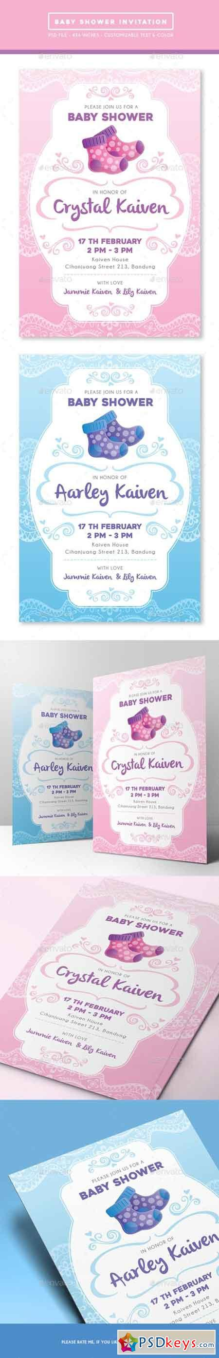 Baby Shower Invitation 15355796