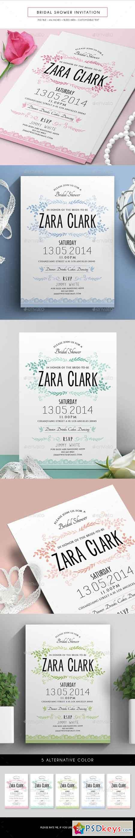 Bridal Shower Invitation 16479847