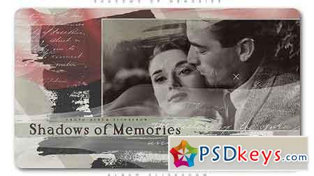 Shadows of Memories Album Slideshow After Effects Template 21375400