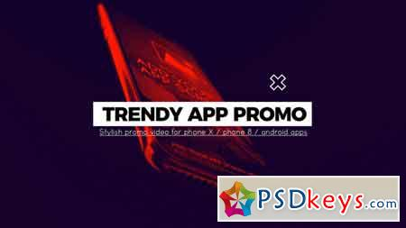 Trendy App Promo After Effects Template 21954368
