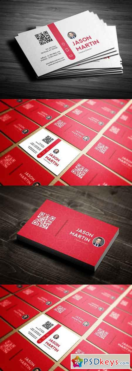 Creative Individual Business Card 2555442