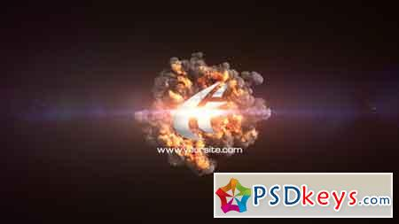 Quick Explosion Sting After Effects Template 19431426