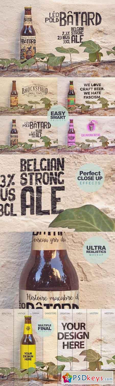 Formentera Beer & Logo Mockup 2 2636864