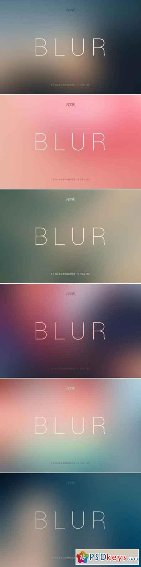 Blur Smooth Backgrounds Vol. 05