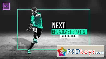 Broadcast Sports Pack Essential Graphics Mogrt Premier Pro Template 21835831