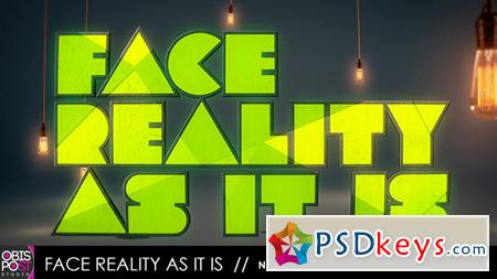 Face Reality As It Is After Effects Template 4804149
