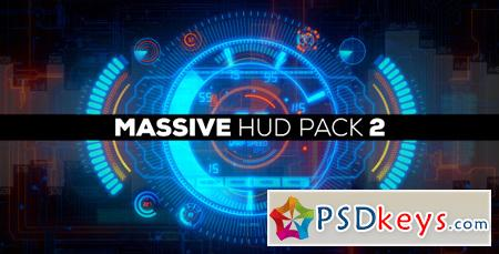 Massive HUD Pack 2 After Effects Template 4860833