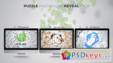 Puzzle Photo Logo Reveal Pack After Effects Template 20946617