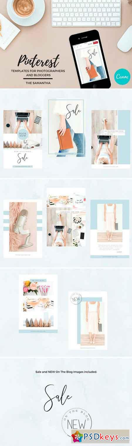 Pinterest Templates for Canva 2545140