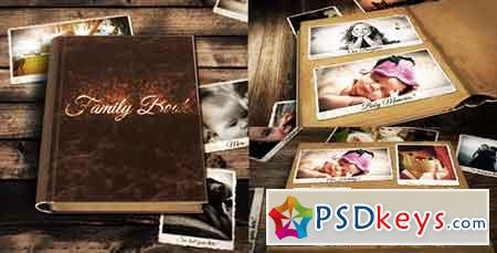 Family Book After Effects Template 19686245