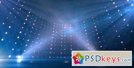 Blue Revolving Stage Motion Graphic Template 7764198